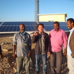 5KW Telecommunication Base Station in Somalia