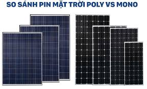 Pin Năng lượng mặt trời Poly 4